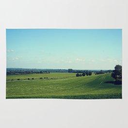 Rolling fields Rug