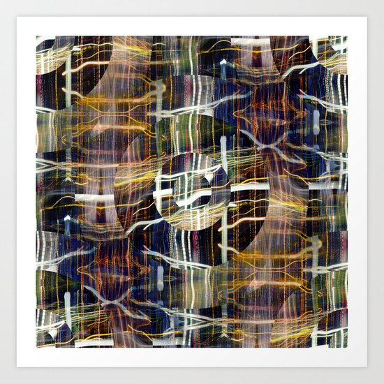 concentrated defense : concentric definition Art Print