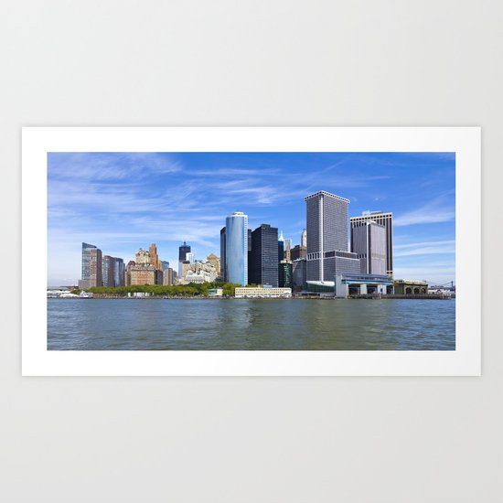 Downtown NY Art Print
