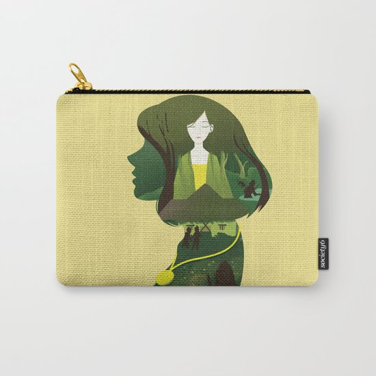On My Mind Carry-All Pouch