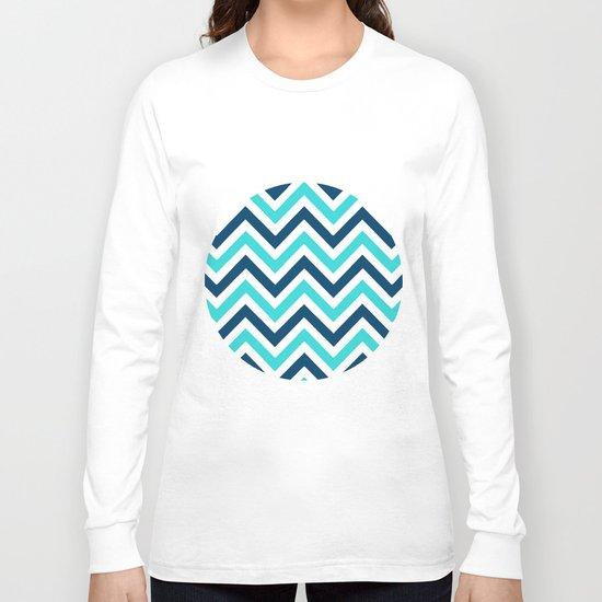 The Chevron has the Blues Long Sleeve T-shirt