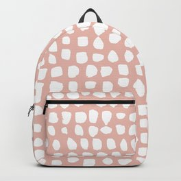 Dots / Pink Backpack