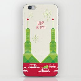 Oregon Convention Center Christmas iPhone Skin