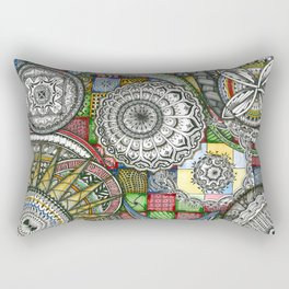 The Patterns Rectangular Pillow