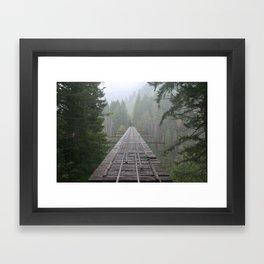 That NW Bridge - Vance Creek Viaduct. Framed Art Print