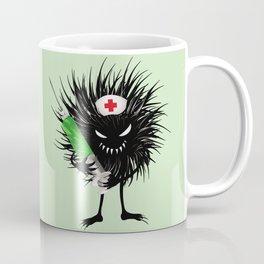 Evil Bug Nurse With Syringe Coffee Mug