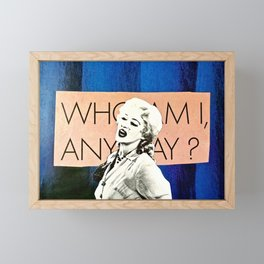 Who Am I Framed Mini Art Print