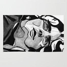Mann Portrait  Rug