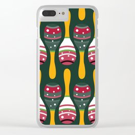 Maracas Shakers Clear iPhone Case