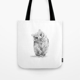 The Northern White-faced Owl  Tote Bag