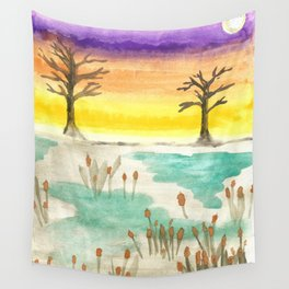 skyscapes 5 Wall Tapestry