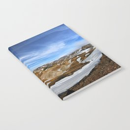 Landmannalaugar, Iceland Notebook
