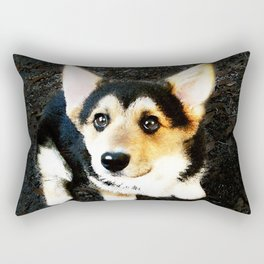 Please? Rectangular Pillow