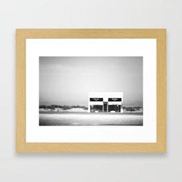 Marfa in the Wind Framed Art Print
