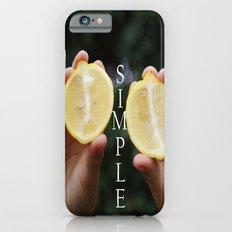 Simple iPhone 6s Slim Case