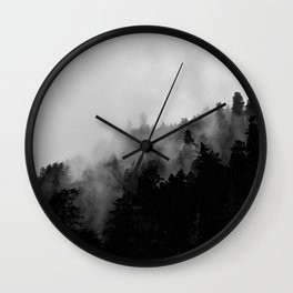 Eagle Creek Fog Wall Clock