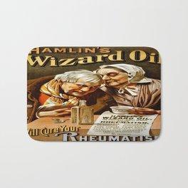 Vintage poster - Hamlin's Wizard Oil Bath Mat