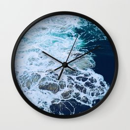 Wonderful Waves Wall Clock