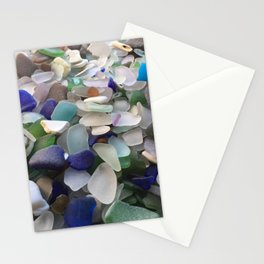 Sea Glass Assortment 2 Stationery Cards