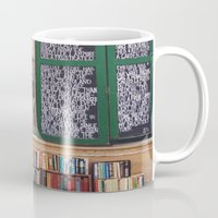 shakespeare Mugs featuring Shakespeare in Paris #2 by Alicia Bock