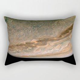 Surface and storms of Planet Jupiter Rectangular Pillow