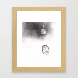 Lies Framed Art Print