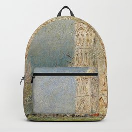 Salisbury Cathedral, English Landscape by Albert Goodwin Backpack