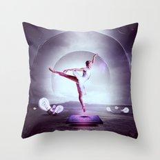 Beyond The Frame Throw Pillow
