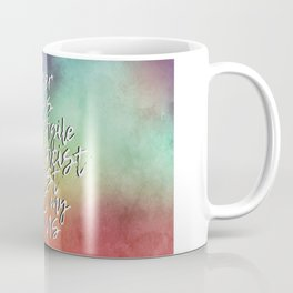 The Bigliest Word You've Ever Heard! Bold Rainbow Coffee Mug