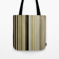 stripe Tote Bags featuring Stripe by Fine2art