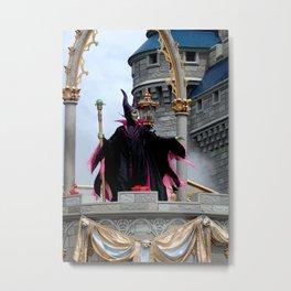 MAGIC KINGDOM: Maleficent Metal Print