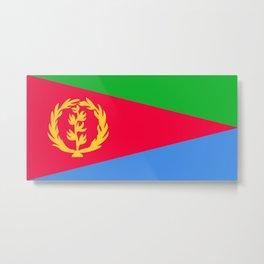 Flag of Eritrea Metal Print