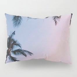 Palm Trees Sunset III / Kihei, Hawaii Pillow Sham