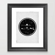 TIME TUNNEL Framed Art Print