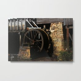 Wheel Metal Print