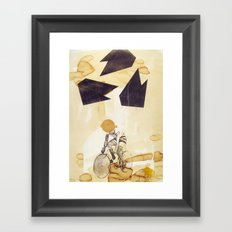 Messenger Framed Art Print