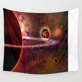 TWO MOONS - 336 Wall Tapestry