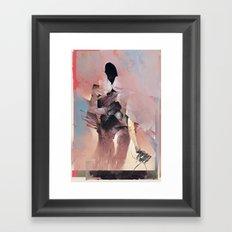 Silence Breaker Framed Art Print