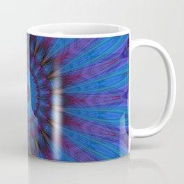 Mandala blue Flower Coffee Mug