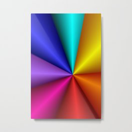 turn around with colors -37- Metal Print