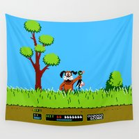 gameboy Wall Tapestries featuring Gameboy by Janismarika
