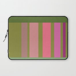 Green and pink color story Laptop Sleeve