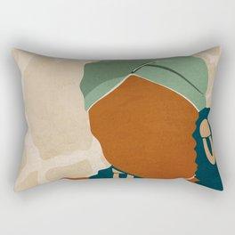 Head Wrap No. 1 Rectangular Pillow