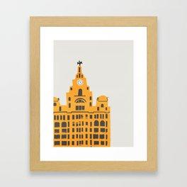 Liver Building Liverpool Framed Art Print