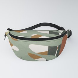 Abstract Plant Life III Fanny Pack