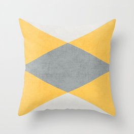 summer time triangles Throw Pillow