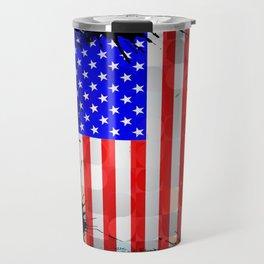 Azorean, American, Portuguese art flags Travel Mug