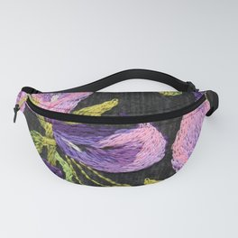 Embroidered callas Fanny Pack