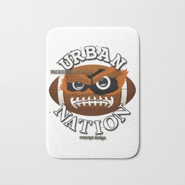 The Monster American Football Character - Cool Exclusive Design ! Bath Mat