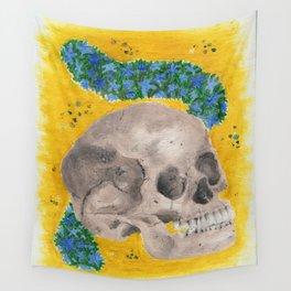Summer Skull Wall Tapestry